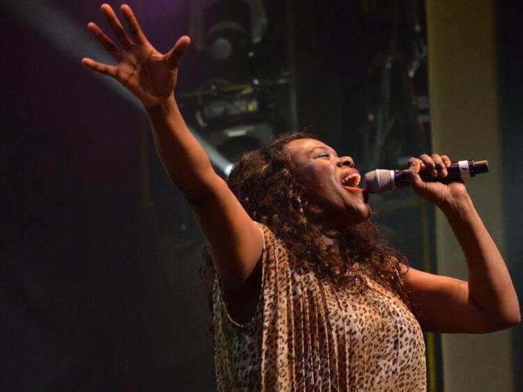 Female gospel singer